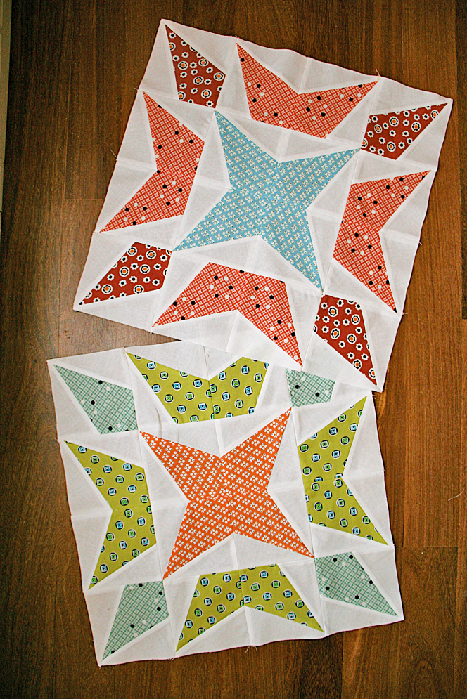 First quilt.