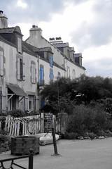 Maisons de pêcheurs en Bretagne