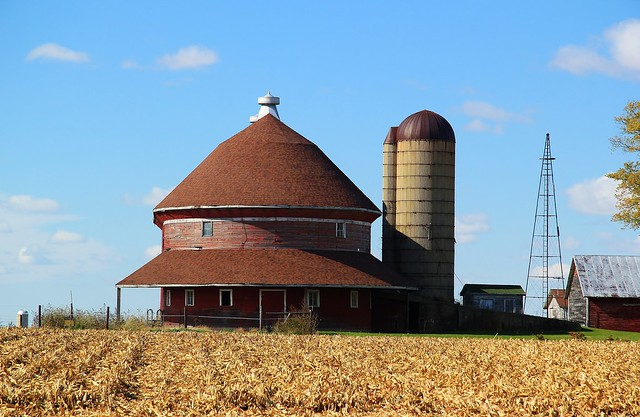 Red Oval Barn