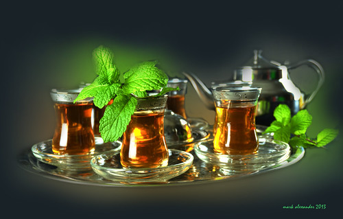Arabic Mint Tea شاي مع النعناع by Mark Alexander PhotoG