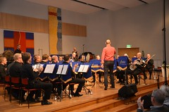 Brassbandsfestivalen 2012 - Windcorp Brass Band med dirigent Andreas Kratz