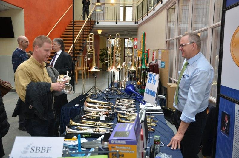 Brassbandfestivalen 2012 - Uffes Blås säljer brass