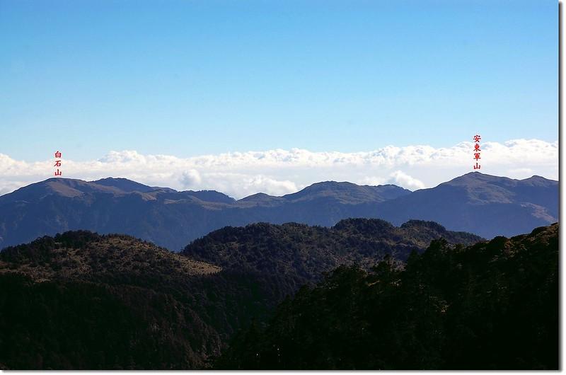 三叉峰環景(From 三叉峰營地,北至東) 16