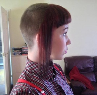 flickr the skingirl haircuts pool
