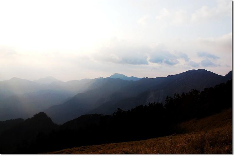 奇萊東稜(From 屏風山) 2