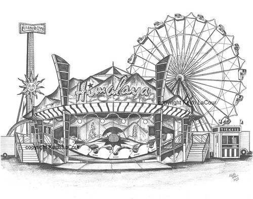free carnival rides for coloring pages Carnival Coloring Pages to Print  Carnival Rides Coloring Pages
