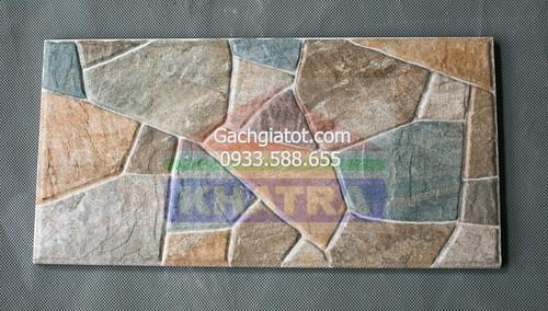 Gạch ngoại thất vân đá 3 màu