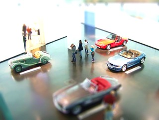 Tilt Shift - BMW museum in Munich