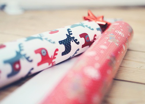 Christmas wrapping by {miss bex}