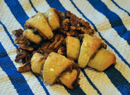 Chocolate Chip Pecan Pie Rugelach