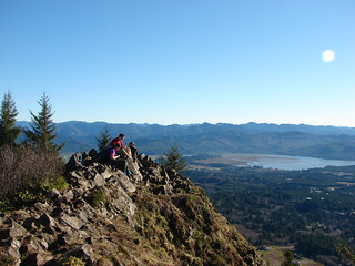 Lunch on Neahkahnie Mountian