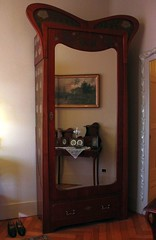 Appartment in Casa Mila by A. Gaudi - The parents' room #2