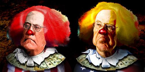 David Koch & Charles Koch - The Koch Clowns