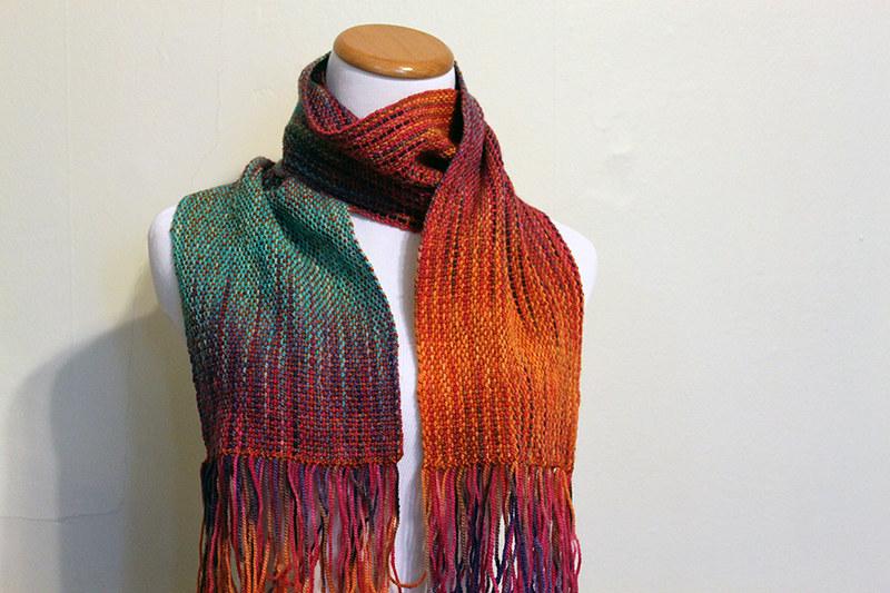 Jacey's birthday scarf