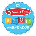 melissa doug blog ambassador @teachmama