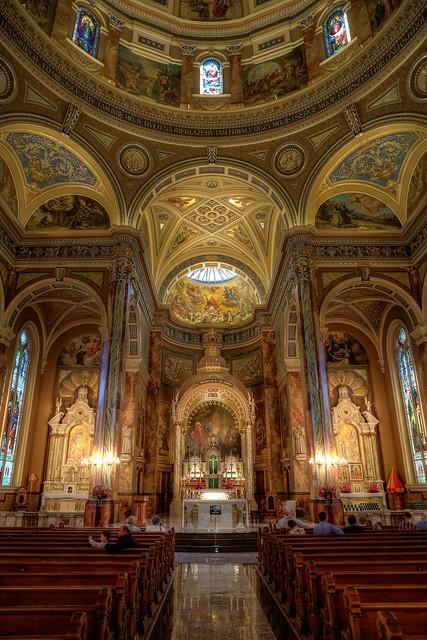 Saint Josaphat Basilica interior