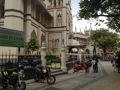 Arab Street and Sunday lunch.