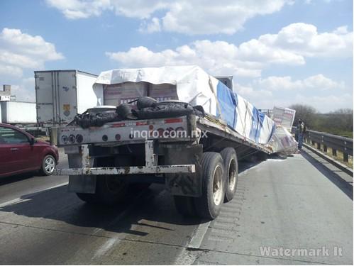 Accidente en la México -Querétaro by agenciainqro.com Agencia Queretana de Noticias
