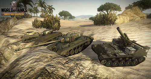Скачать World Of Tanks: Xbox 360 Edition