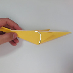 สอนวิธีพับกระดาษเป็นรูปลูกสุนัขยืนสองขา แบบของพอล ฟราสโก้ (Down Boy Dog Origami) 039