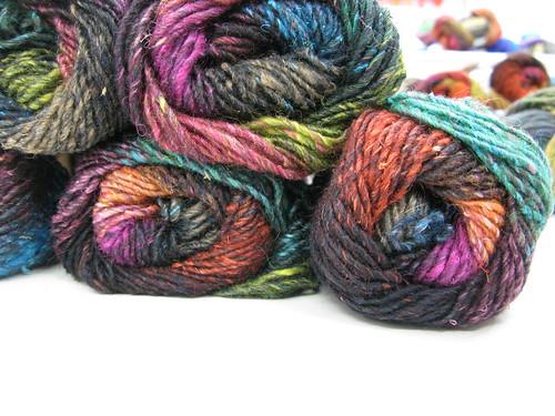 On the needles: Noro Silk Garden