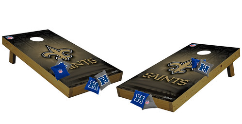 New Orleans Saints Premium Cornhole Boards