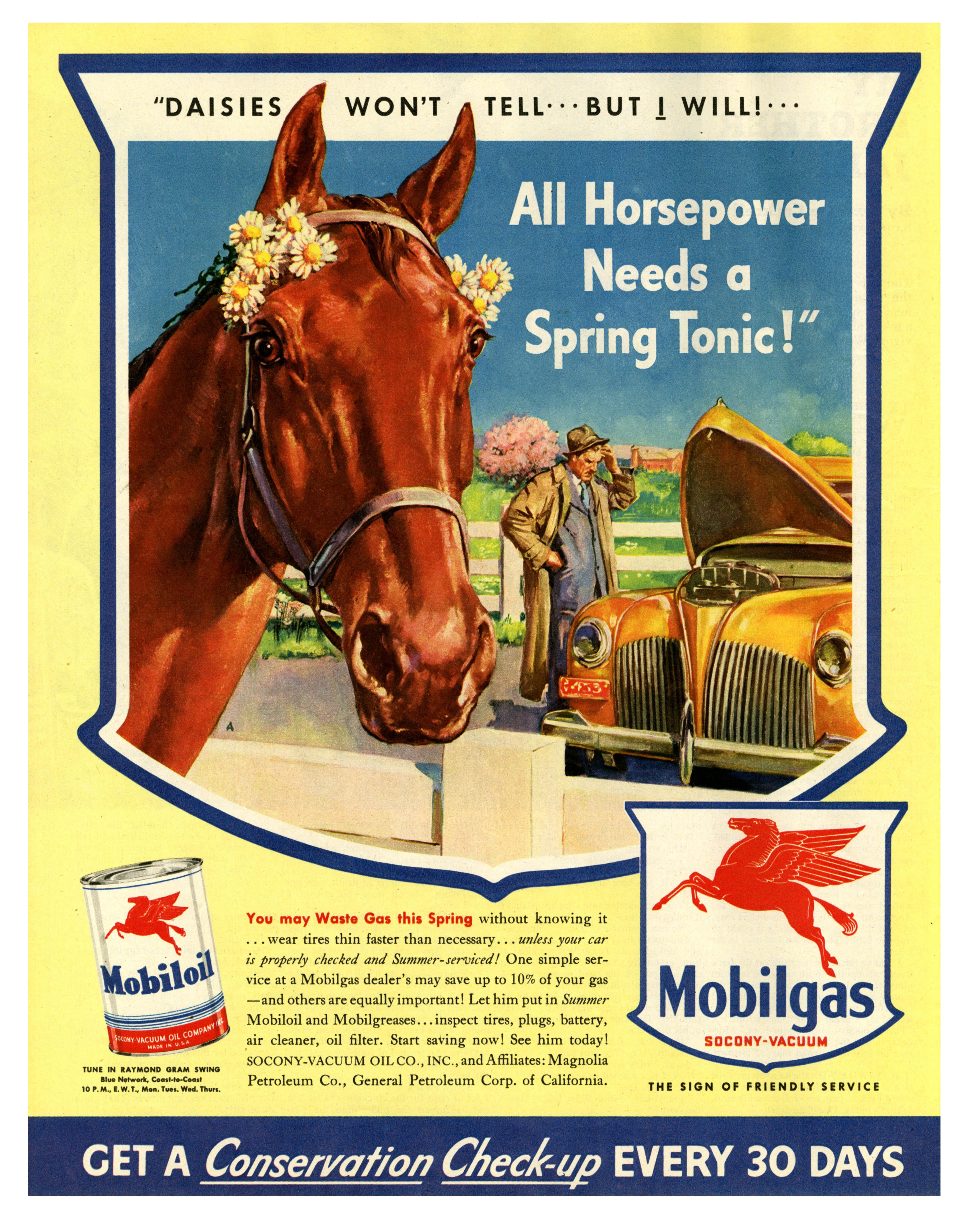 Mobilgas/Mobiloil - 1943