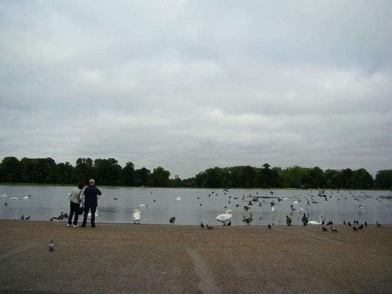 Kensington Gardens Round Pond