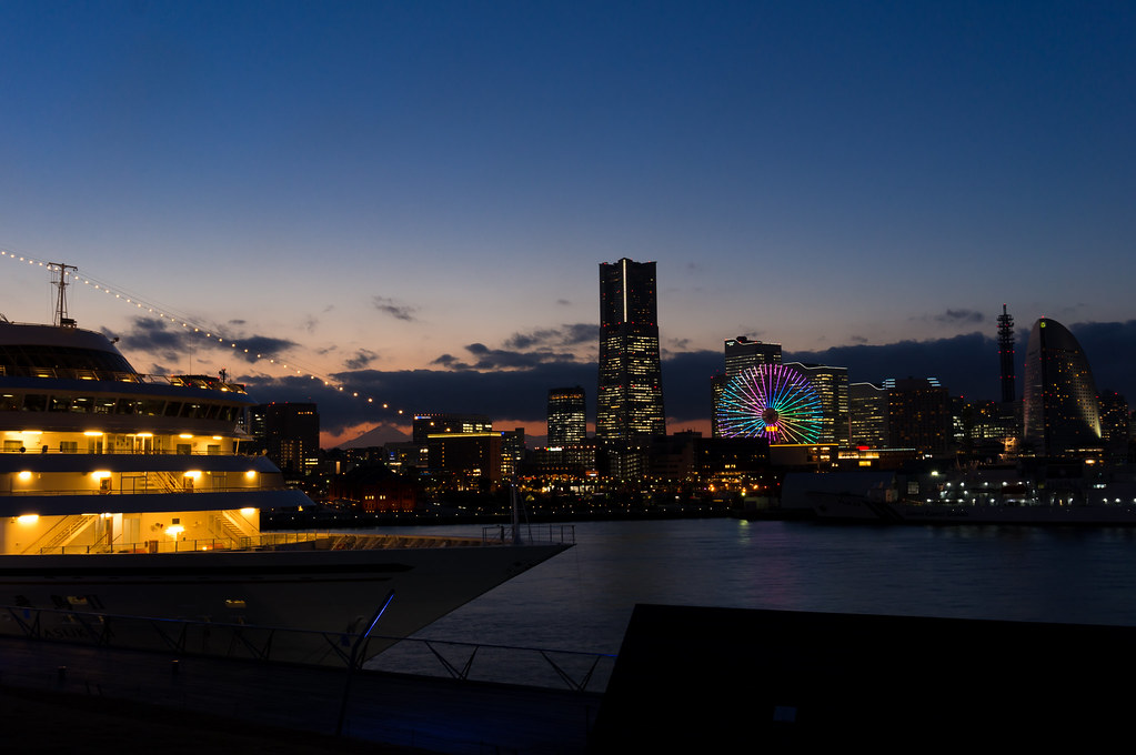 大さん橋〈夜景〉
