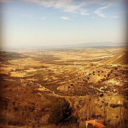 Aparte de la miel, la otra maravilla de la Alcarria: las vistas a la Campiña.