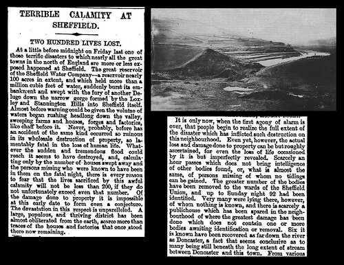 11th March 1864 - Sheffield dam bursts causing flooding | by Bradford Timeline