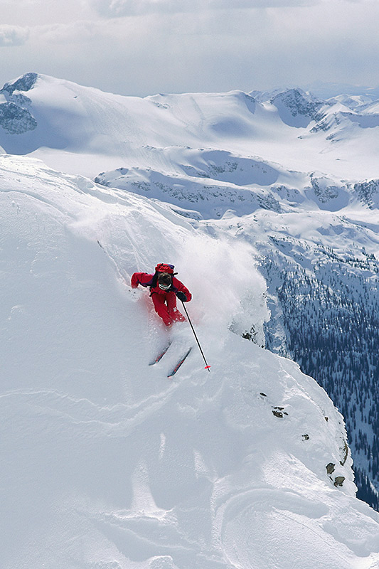 Heli-Skiing; Outdoor Recreation in British Columbia, Canada