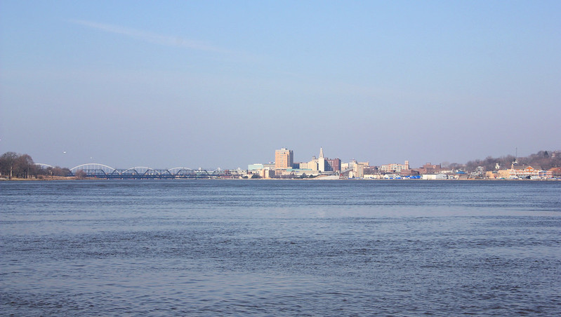 Downtown Davenport, Iowa