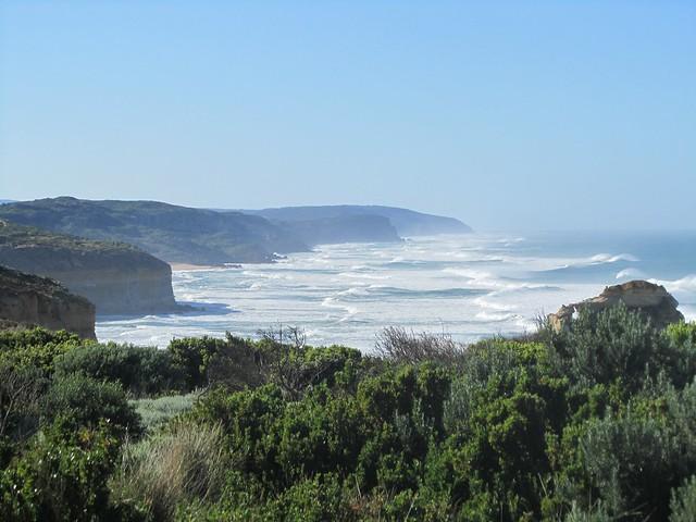 El mar en su máximo esplendor en Australia