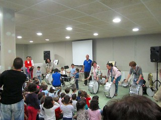 AionSur 13761628805_216e714424_n_d La Santa María Magdalena sigue acercando la música a las aulas Educación