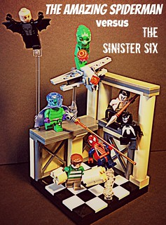 The Amazing Spiderman vs The Sinister Six