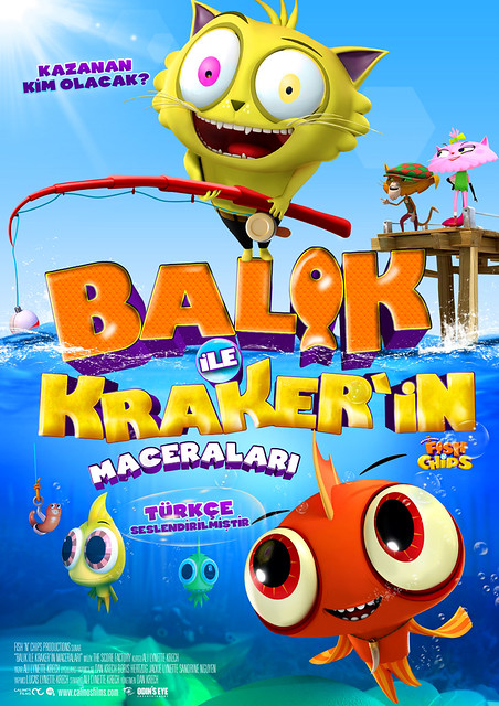 Balık ile Kraker'in Maceraları - Fish N Chips, Best Enemies Forever (2014)