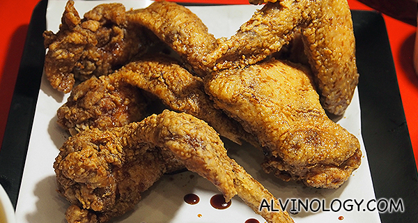 Soya Chicken Wings ($24 /8pc, $12 /4pc)
