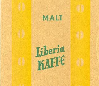 Lykke kaffe - Malt Liberia kaffe (1959)