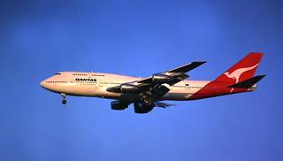 Qantas B747-388 VH-EBX