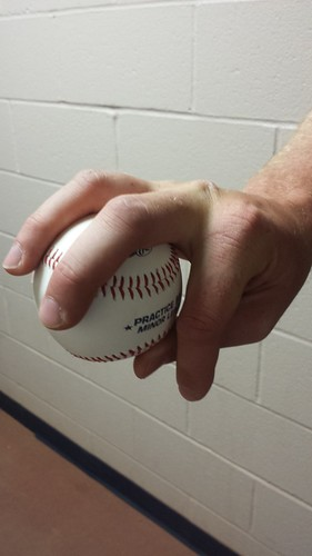 Will  Roberts Changeup Grip