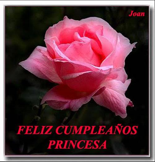 Feliz día Princesa