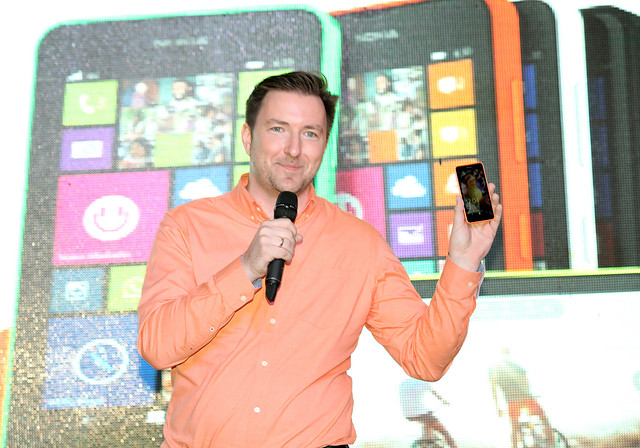 Karel Holub announces the availability of the Lumia 630