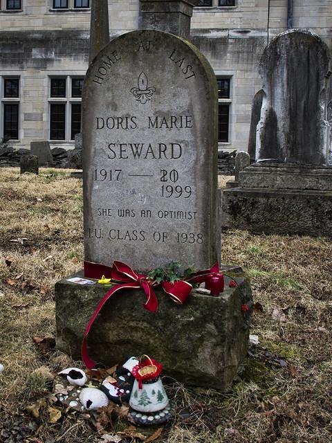 Indiana University gravestones