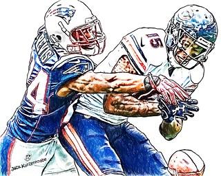 New England Patriots Darrelle Revis - Chicago Bears Brandon Marshall