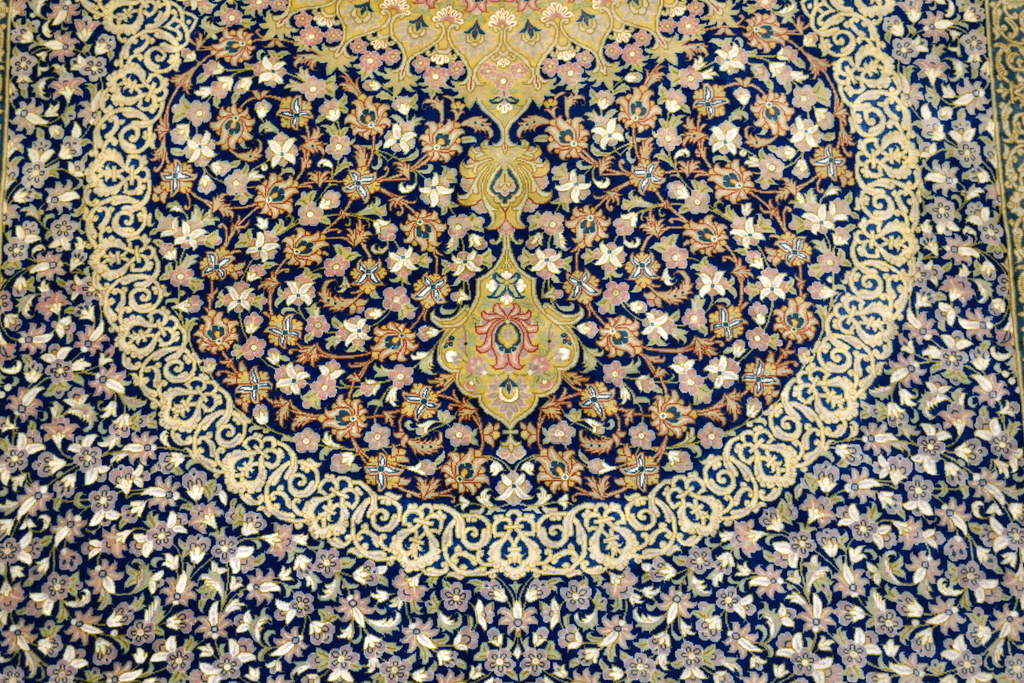 Master Piece 1000 KPSI Qum Pure Silk Persian Area Rug 5x7 by Samadi (6)
