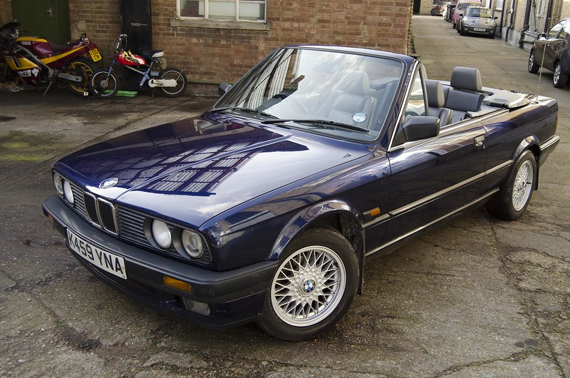 Bmw E30 318i Lux Convertible 1993 London E3 163 1600 Retro Rides