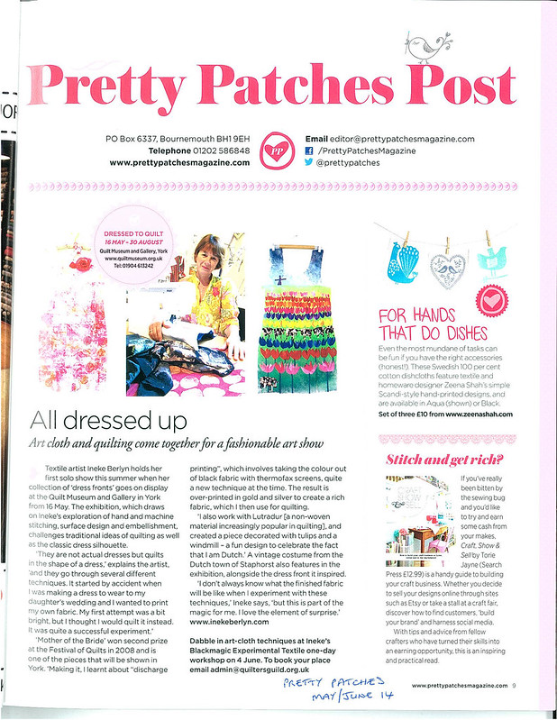 Torie Jayne in Pretty Patches Magazine