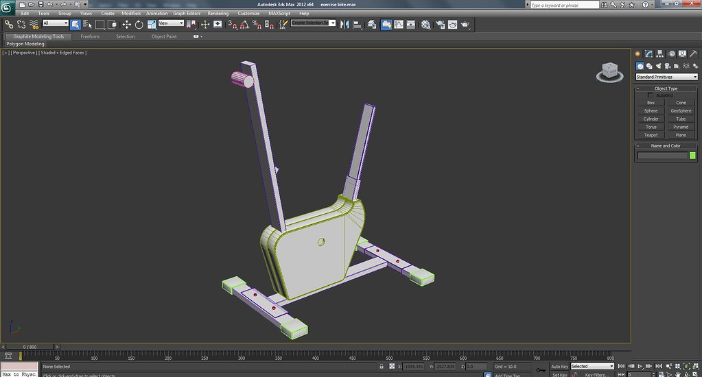 Exercise Bike Work In Progress Wire Frame Screenshots