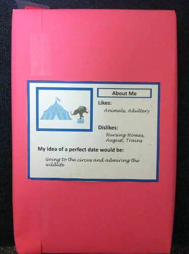 Who will you choose as your blind date? Photo courtesy of the Undergraduate Library